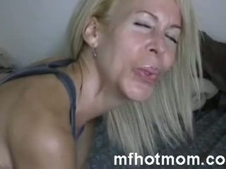 pornografía, maduro, mamá