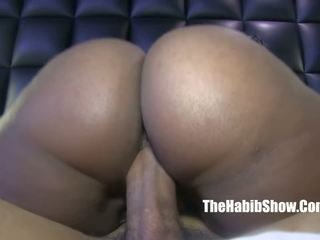 Phat Booty Chocolate Ambitious Booty Fucked by BBC.