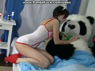 汚い セックス へ 治療法 a 病人 panda