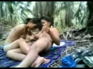 Indonesia thiếu niên fucked lược trong các rừng