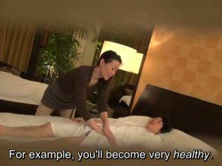 Subtitled japans milf massage therapist seduction in hd <span class=duration>- 5 min</span>