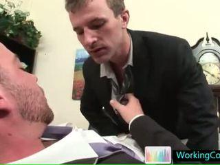 Baan interview resulting in heet steamy homo