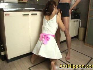 Ann takamiya азиатки floozy enjoys getting