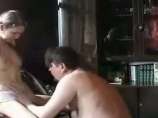 Echt pa dochter thuis video-
