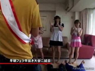 हाथापाई, जापानी, blowjob