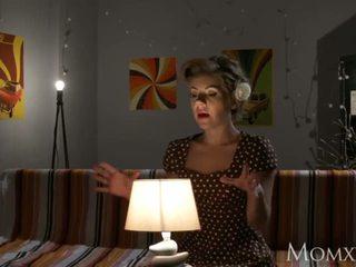 Mamma lonely casalinga gets profondo sonda da alieno su halloween