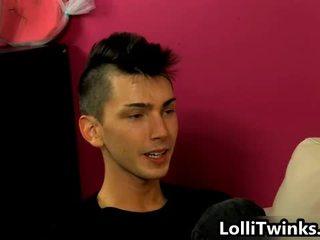 Schattig alex todd en colby london homo