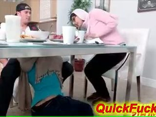 Mami seduces adoleshent daughters boyfriend
