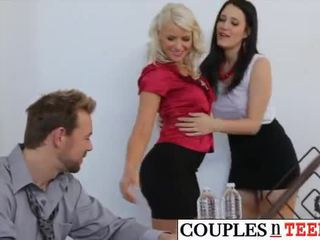 Anikka Albrite and Kimberly Kane Bonked by Erik Everhard