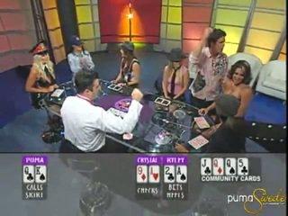 Blondinke puma swede wins a jackpot znotraj poker