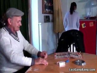 Възрастни френски sult tries тийн путка