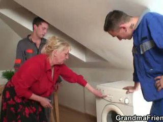 anyu, old pussy, nagymama