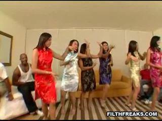 Asiatico festa 2 sesso video