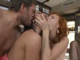 жорстке порно, оральний секс, подвійне проникнення