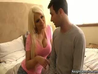 hơn bộ ngực to bất kỳ, lớn blowjob mới, đẹp cô gái tóc vàng miễn phí