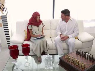 arabisch, massage, indisch