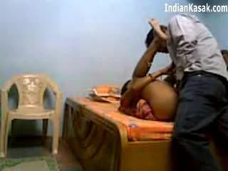 インディアン servant クソ 非常に ハード とともに houseowner で ベッドルーム