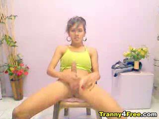 webcam, solo, tranny