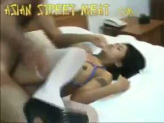 Schattig thai serveerster neuken mij mister aziatisch straat meat 2