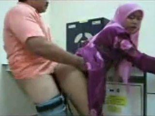 Hijab biuro pieprzyć