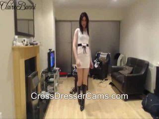Crossdresser soo szexi!