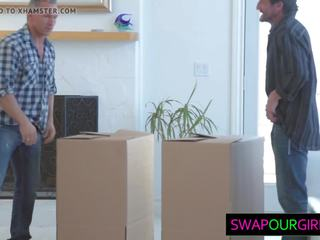 Hot Teens Swapping Dads, Free Daughter Swap HD Porn 65