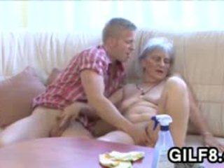 granny, blowjob, old+young