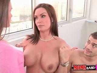 Abby atravessar sexo a 3 com dela bf passo mãe