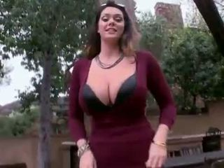 Alison tyler - विशाल प्राकृतिक टिट्स मिलना गड़बड़