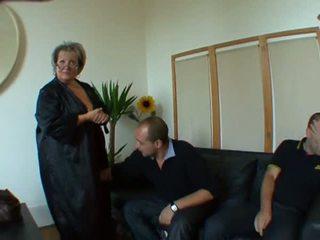 French BBW MILF Carole, Free Mature Porn Video 60