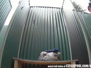 Tsek buhok na kulay kape hidden kamera sa publiko pul