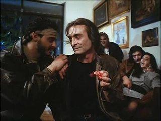 La noche del ejecutor (1992) hiszpańskie birthday: żona & córka fucked & spoiled