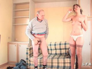 french, threesomes, old+young