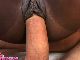 Ebony Sex Raw Princess Jada Fire Gets The Whitey