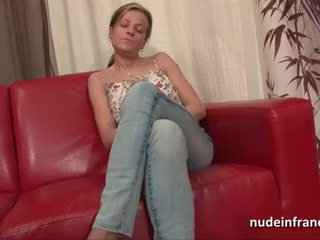 Amateur Busty french cougar haardly analized and jizzed on tits