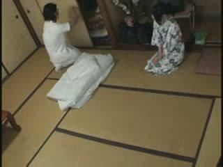 Japanilainen kotiäiti hieronta naida video-