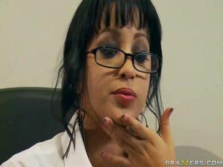 hardcore sex, stora kukar, glasögon
