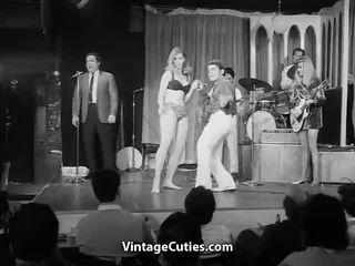 dance, teasing, vintage