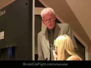 blondīnes, grupu sekss, nobriešana