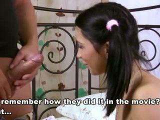 Csintalan fingers a virgin