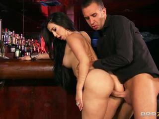 Bar fuck dengan besar breasted valerie kay