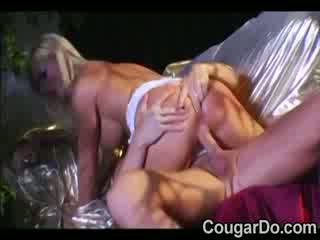 Blond prostitute with hot Boobs takes ...