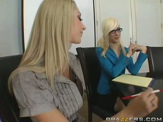 Sammie Rhodes And Madelyn Marie's Strap-On And Play Anal Video