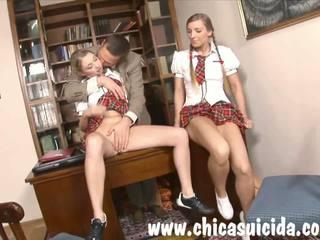 adolescență, sex în trei, anal