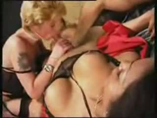 tranny, threesome, homemade