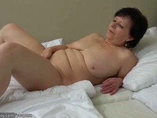 tits, old, masturbate