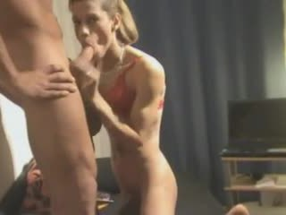 crossdresser, anal, threesome