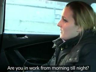 Fake Taxi Driver Anally Fucks Brunette...