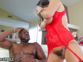Lexington steele gives hatalmas fasz hogy karlee grey