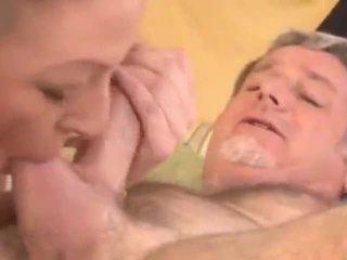 deepthroat, ústní, táta